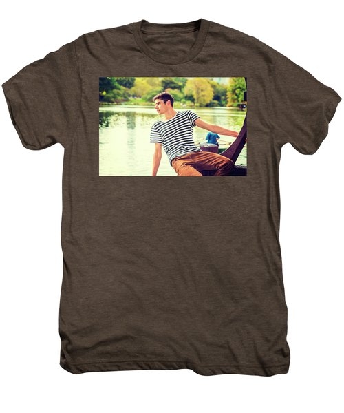 I Missing You And Waiting For You Men's Premium T-Shirt