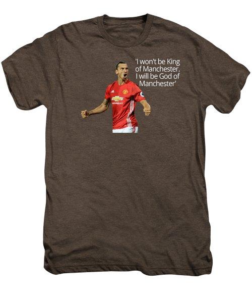 Ibrahimovic Men's Premium T-Shirt by Vincenzo Basile