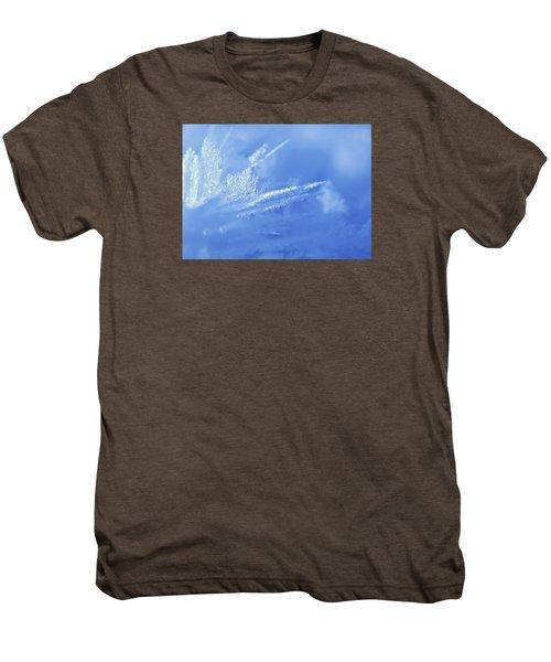 Ice Crystals Men's Premium T-Shirt