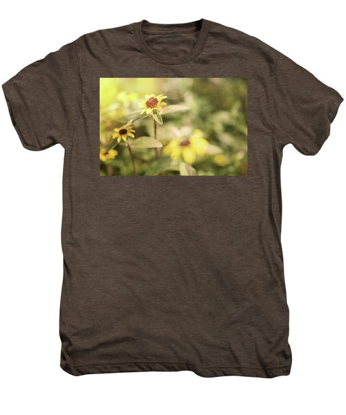 Illuminated Zinnia Men's Premium T-Shirt