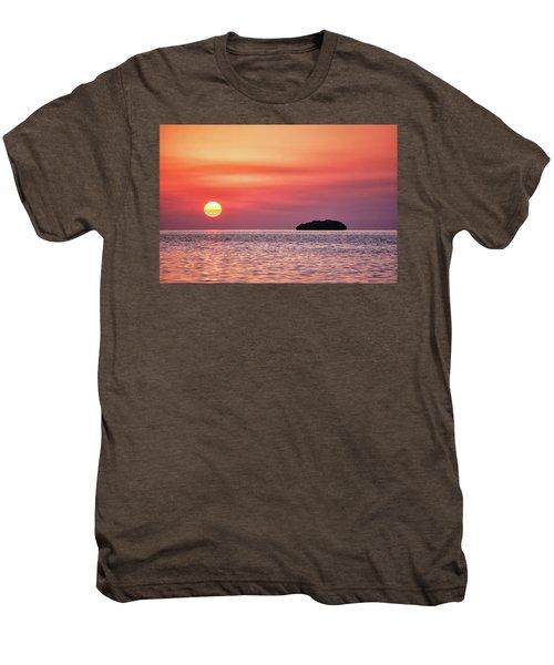 Island Sunset Men's Premium T-Shirt