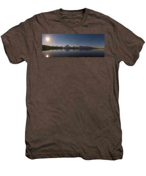 Jackson Lake Moon Men's Premium T-Shirt