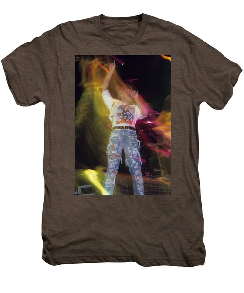 Joe Elliott Men's Premium T-Shirt by Rich Fuscia