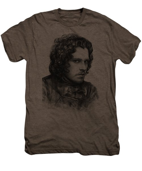 Jon Snow Game Of Thrones Men's Premium T-Shirt