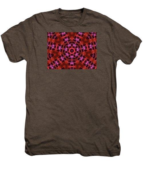 Kaleidoscope With Seven Petals Men's Premium T-Shirt