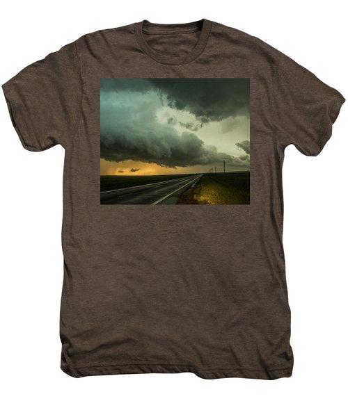 Kansas Storm Chase Bust Day 004 Men's Premium T-Shirt
