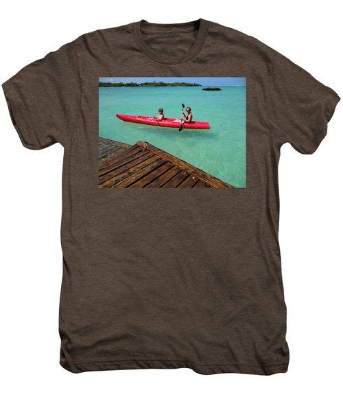 Kayaking Perfection 1 Men's Premium T-Shirt
