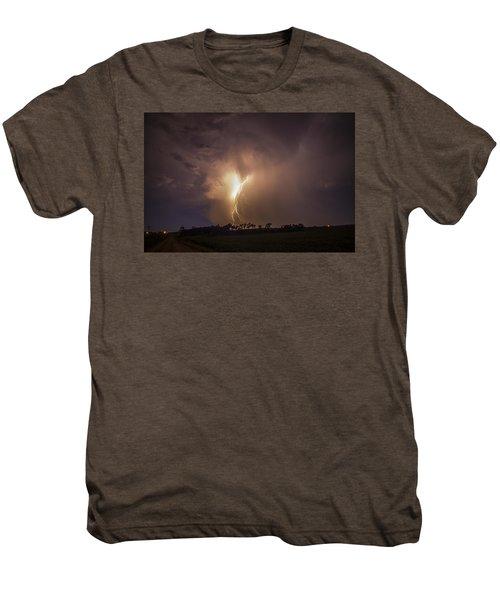 Kewl Nebraska Cg Lightning And Krawlers 014 Men's Premium T-Shirt