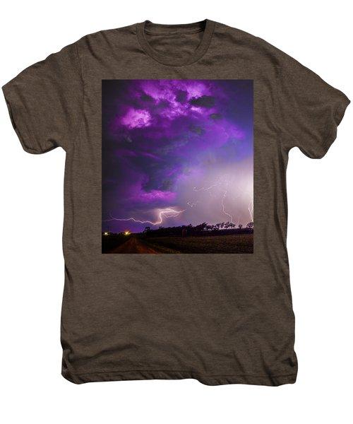 Kewl Nebraska Cg Lightning And Krawlers 038 Men's Premium T-Shirt