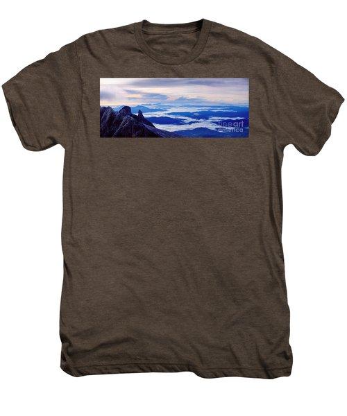 Kinabalu Panorama Men's Premium T-Shirt