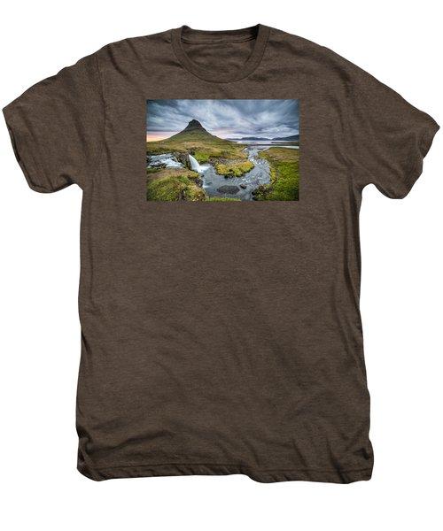 Kirkjufellsfoss 1 Men's Premium T-Shirt