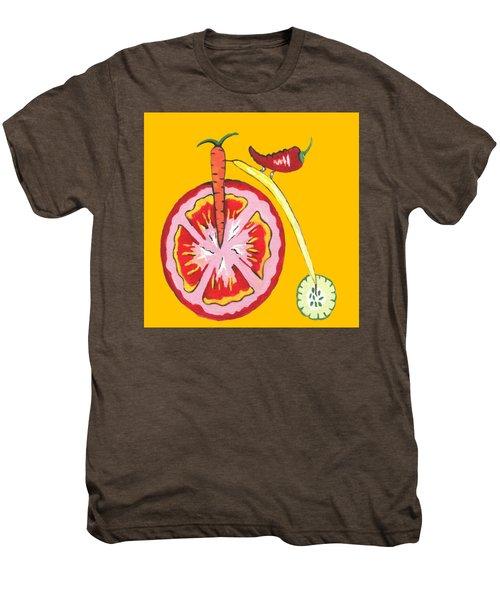 Kitchen Vegetable Art Men's Premium T-Shirt