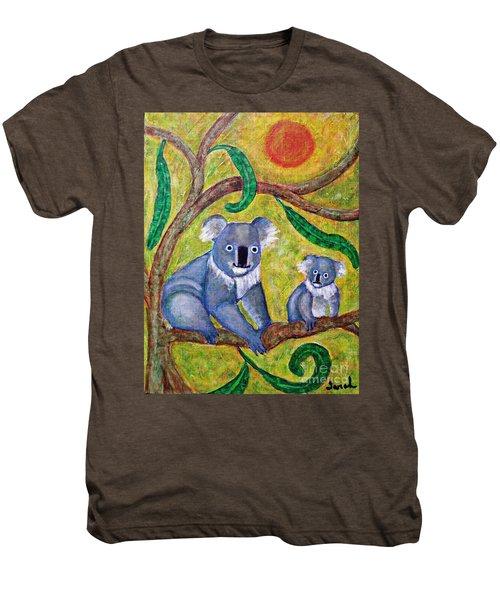Koala Sunrise Men's Premium T-Shirt by Sarah Loft