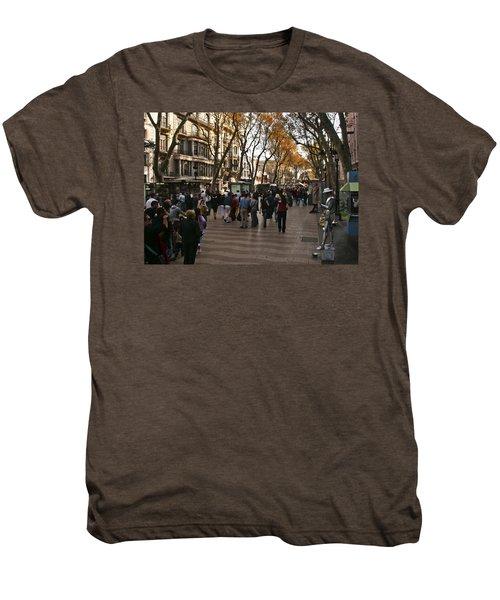 La Rambla II Men's Premium T-Shirt