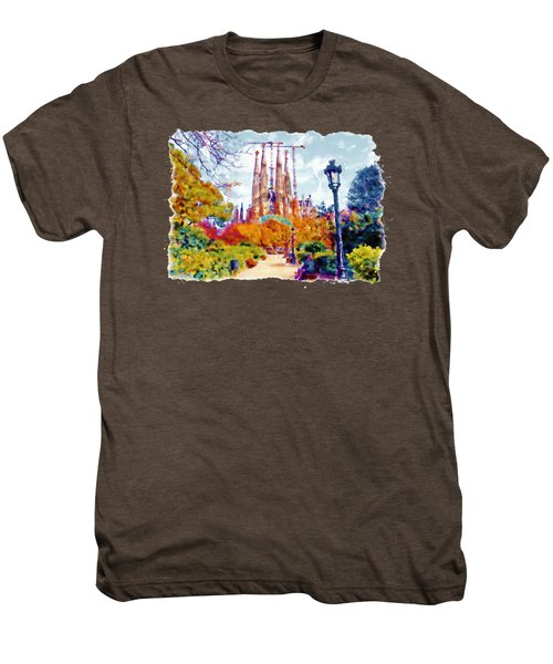 La Sagrada Familia - Park View Men's Premium T-Shirt