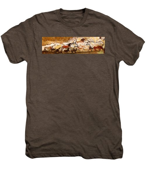 Lascaux Hall Of The Bulls Men's Premium T-Shirt