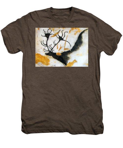 Lascaux Megaceros Deer 2 Men's Premium T-Shirt