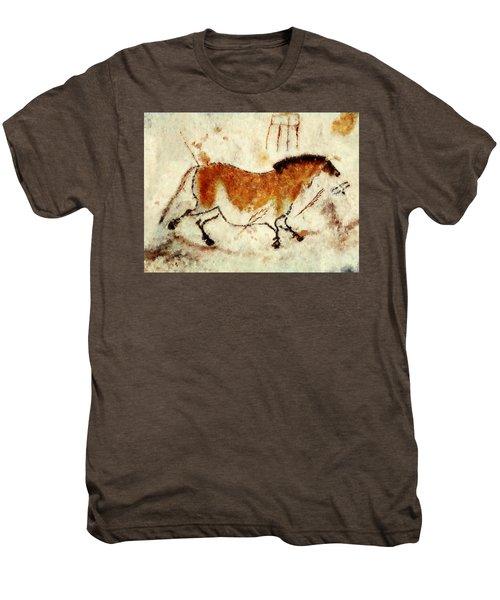Lascaux Prehistoric Horse Men's Premium T-Shirt