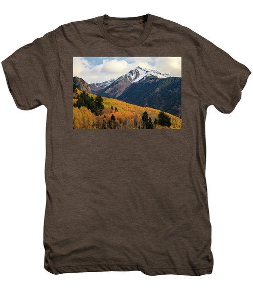 Last Light Of Autumn Men's Premium T-Shirt