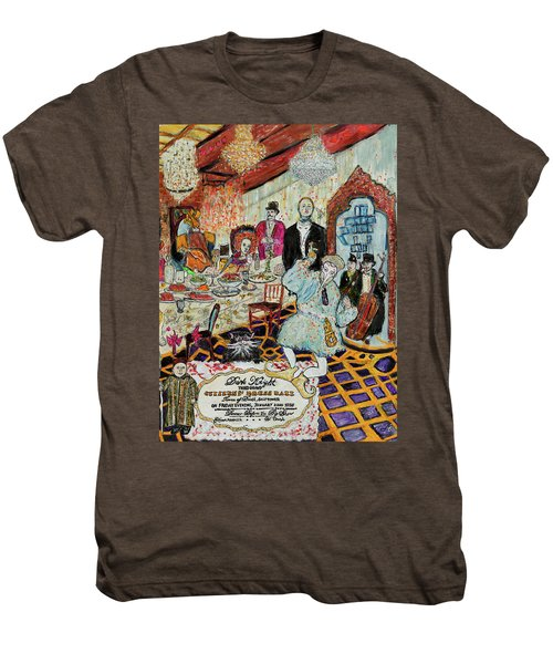 Last Supper, Dark Knight Men's Premium T-Shirt by Lindsay Strubbe