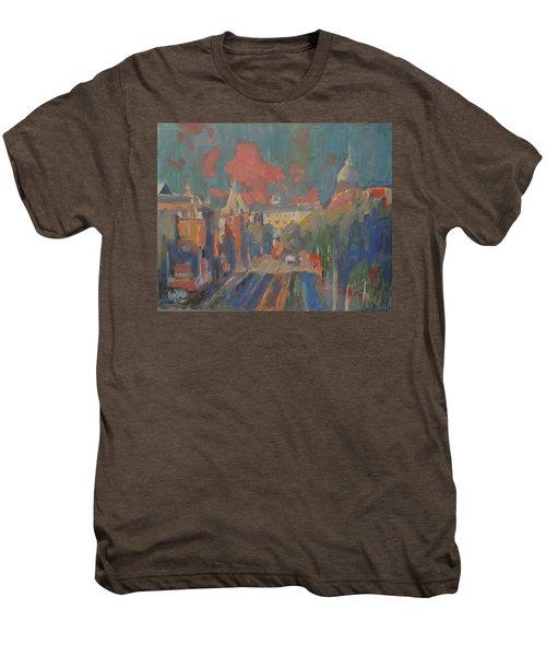 Leidse Plein Red Cloud Men's Premium T-Shirt