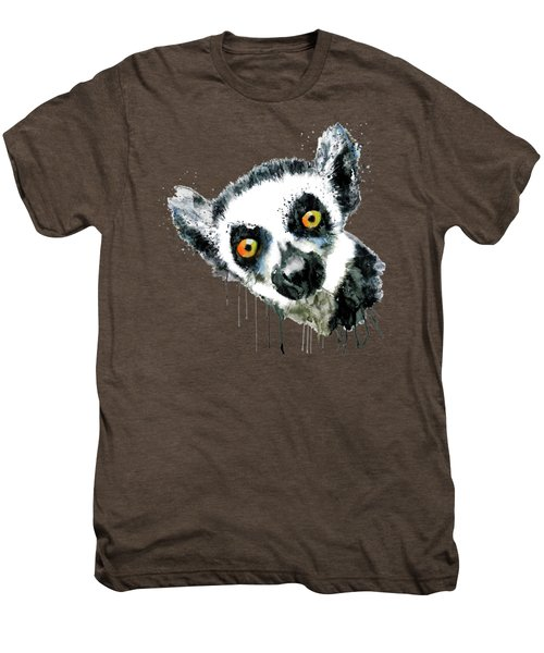 Lemur Head  Men's Premium T-Shirt