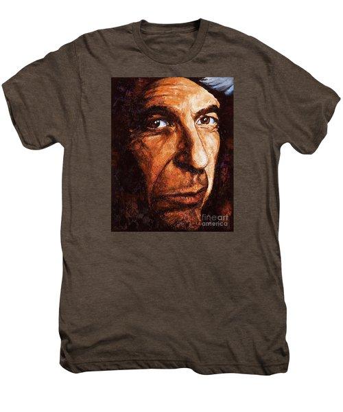 Leonard Cohen Men's Premium T-Shirt