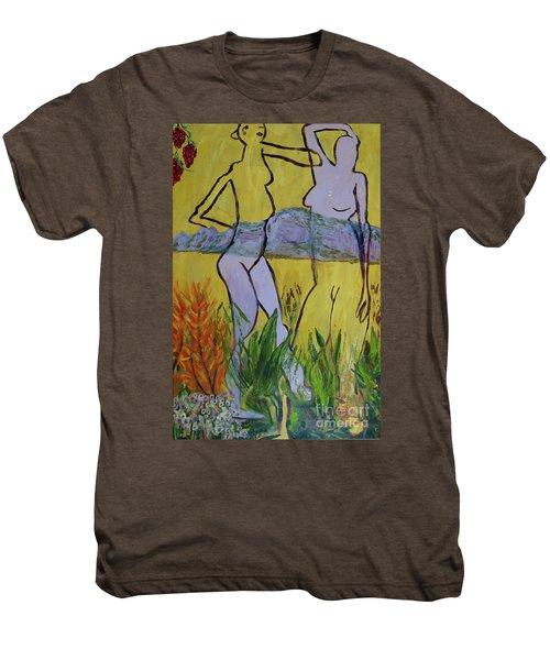 Les Nymphs D'aureille Men's Premium T-Shirt