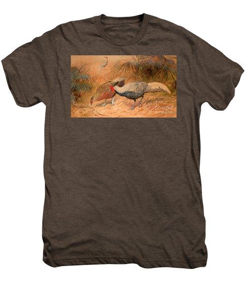 Lineated Kaleege Men's Premium T-Shirt
