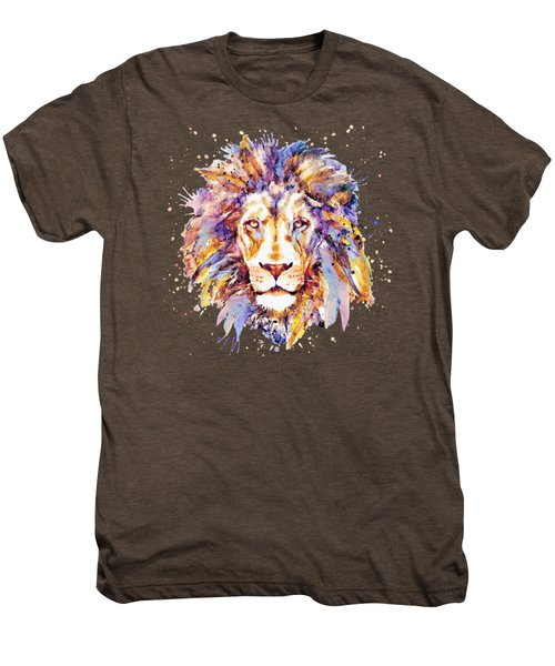 Lion Head Men's Premium T-Shirt