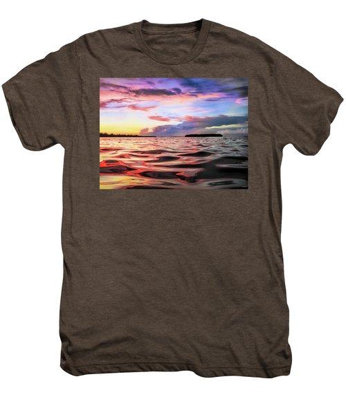 Liquid Red Men's Premium T-Shirt