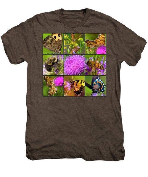 Little Guys  Men's Premium T-Shirt by Betsy Knapp