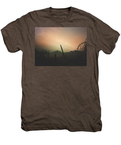 Lonely Fence Post  Men's Premium T-Shirt