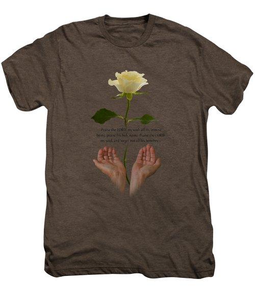 Lord, O My Soul Men's Premium T-Shirt