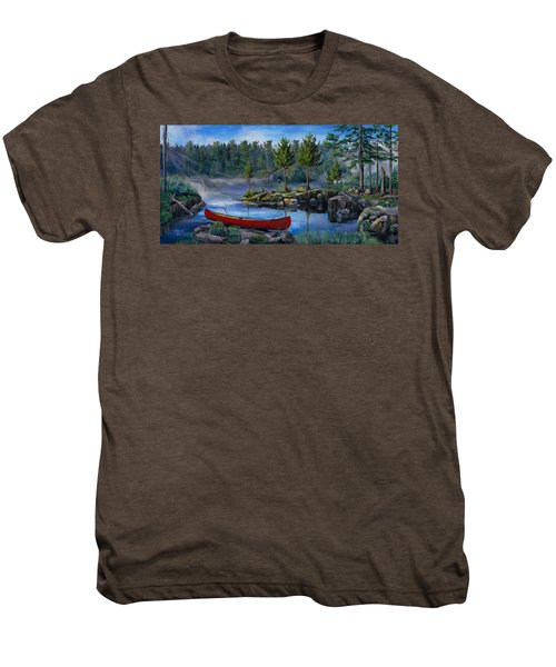 Lost In The Boundary Waters Men's Premium T-Shirt