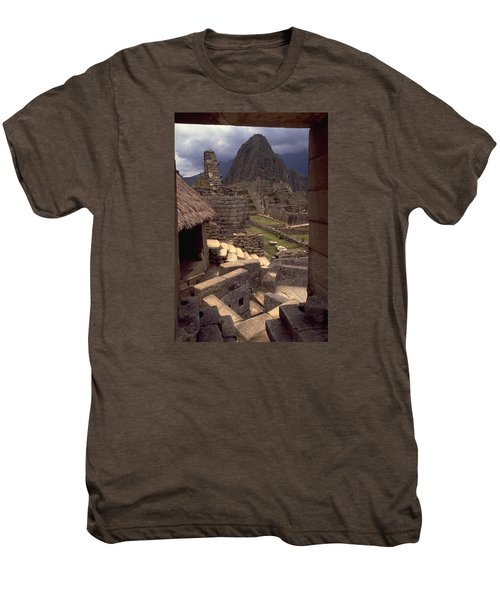 Machu Picchu Men's Premium T-Shirt