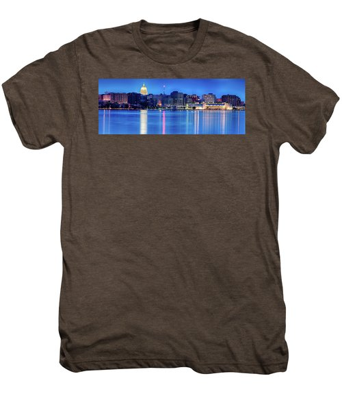 Madison Skyline Reflection Men's Premium T-Shirt