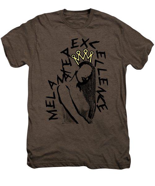 Melanated Excellence II Men's Premium T-Shirt