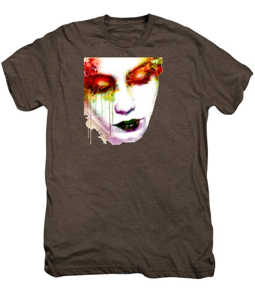 Melancholy In Watercolor Men's Premium T-Shirt