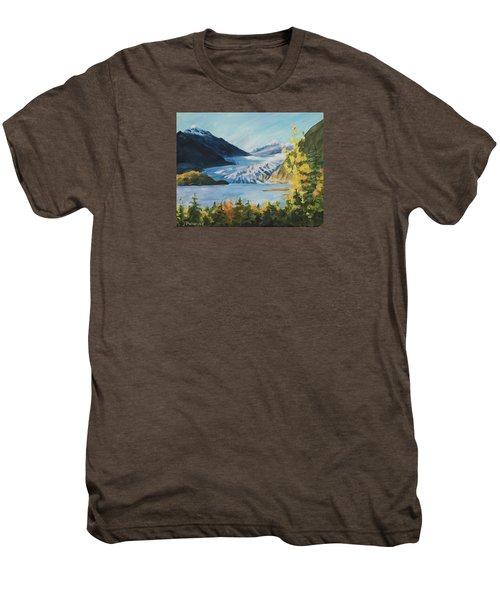 Mendenhall Glacier Juneau Alaska Men's Premium T-Shirt