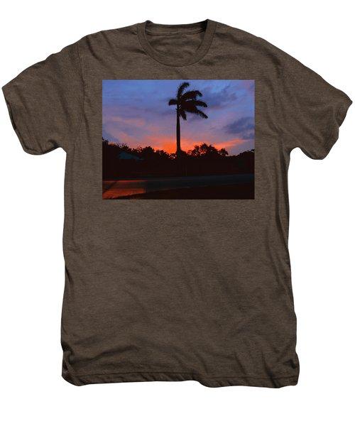 Miami Sunset Men's Premium T-Shirt