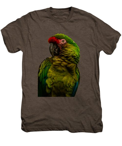 Military Macaw Men's Premium T-Shirt