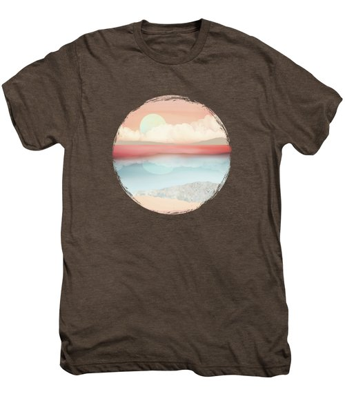 Mint Moon Beach Men's Premium T-Shirt