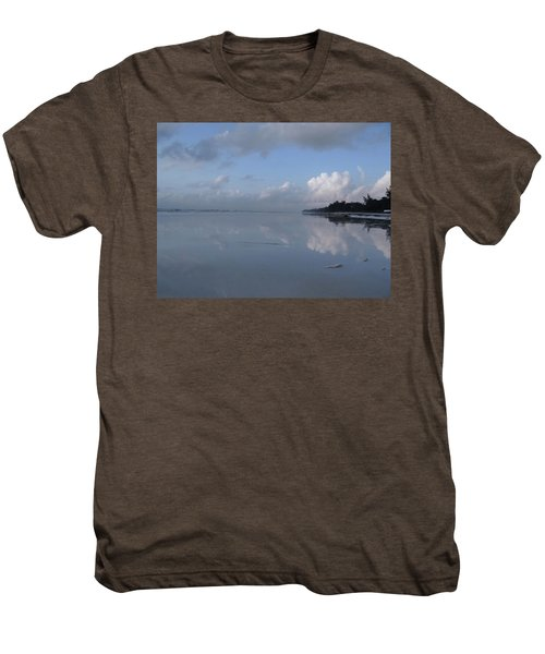Mirror Ocean Water Men's Premium T-Shirt