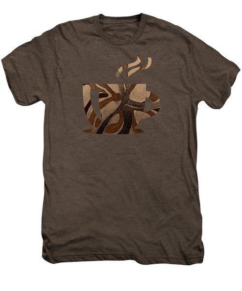 Mocha Java Swirl Men's Premium T-Shirt
