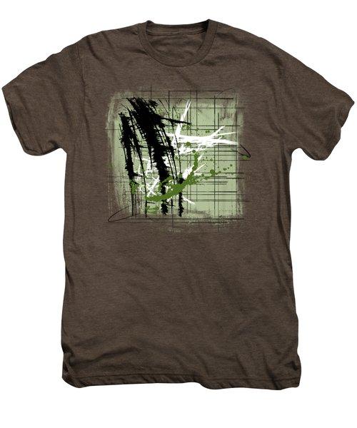 Modern Green Men's Premium T-Shirt by Melissa Smith