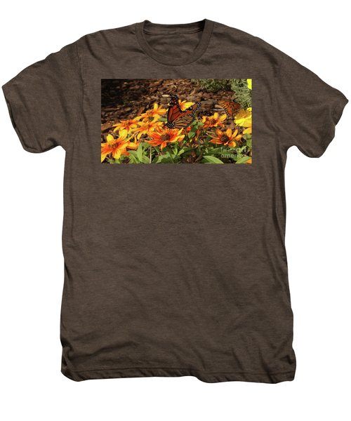 Monarch Butterflies Men's Premium T-Shirt