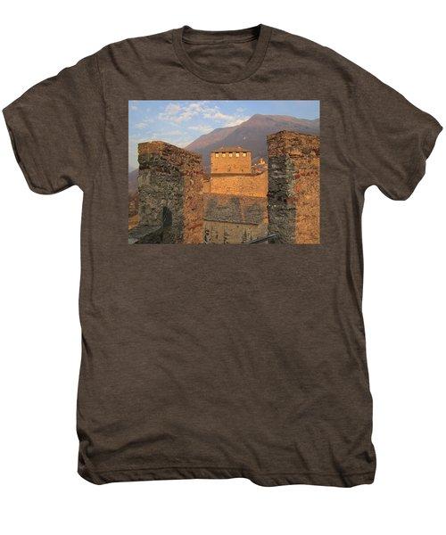 Montebello - Bellinzona, Switzerland Men's Premium T-Shirt