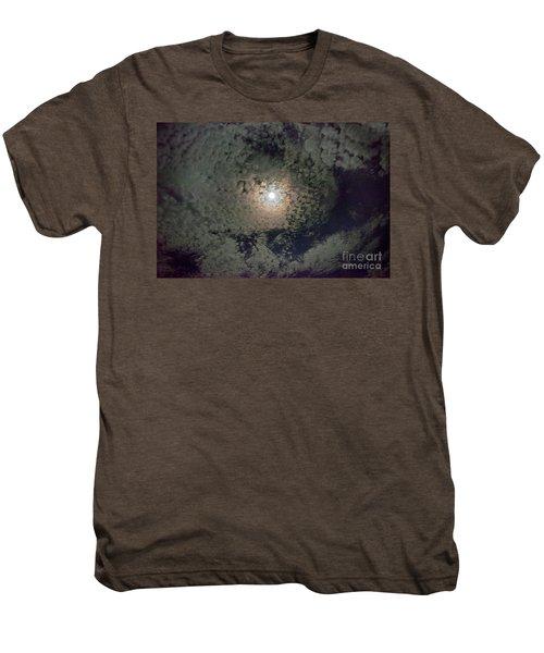 Moon And Clouds Men's Premium T-Shirt