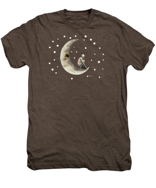 Moon And Stars T Shirt Design Men's Premium T-Shirt